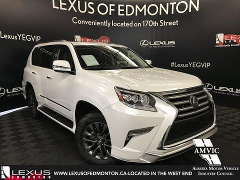 White 2018 Lexus GX 460 Technology Package Walkaround Review West Edmonton Alberta