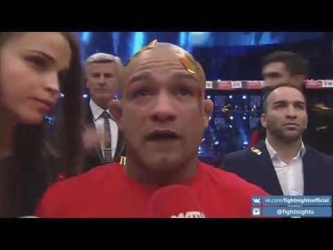 Слова Диего Брандао после боя с Венером Галиевым на турнире FIGHT NIGHTS GLOBAL 67.