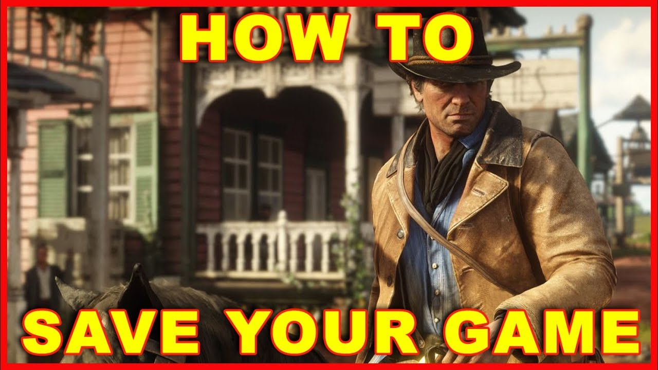 RDR2 how to save: how to save in Red Dead Redemption 2 ...