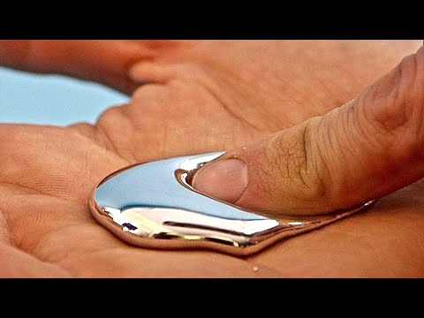 Liquid Metal that is Safe to Touch and Play with