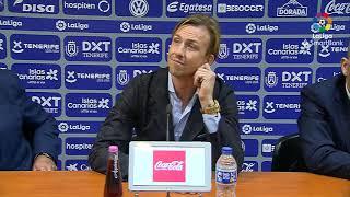 Rueda de prensa de  Guti tras el CD Tenerife vs UD Almería (1-3)