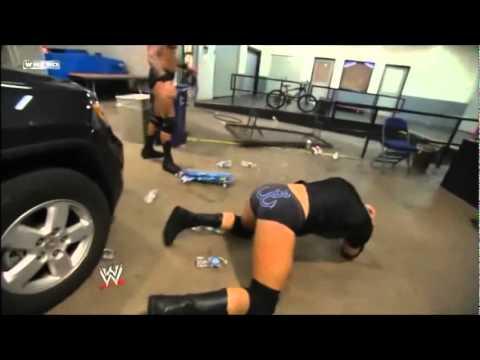 Randy Orton Destroy Wade Barret