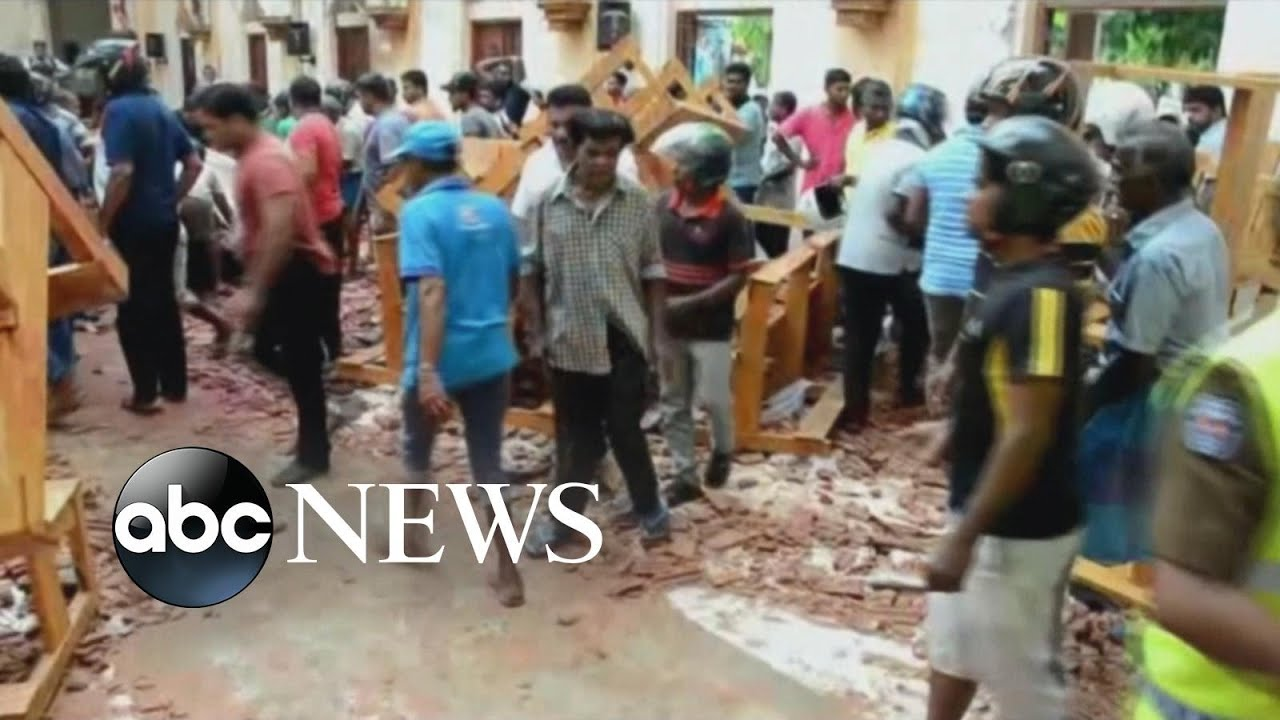 Terrorist attack in Sri Lanka leaves more than 200 dead