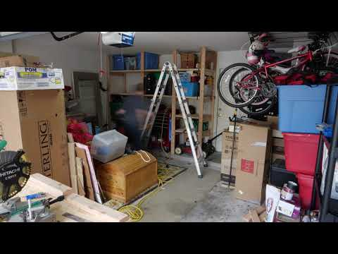 Installing Garage Shelves