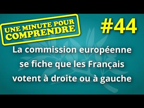 Comprendre en une minute #44 La commission européenne se fiche des votes Français