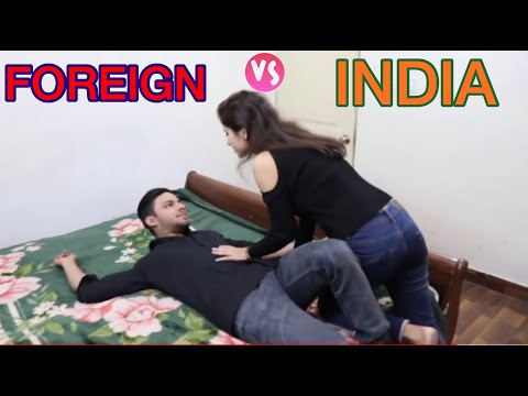 India Vs foreign relaationship || funny video || Aman Grover || bhawna || shikha