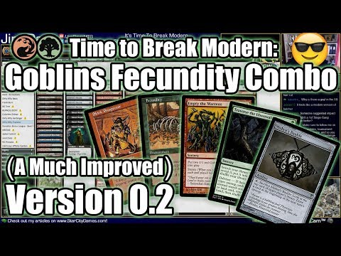It's Time To Actually Break Modern! Skirk Prospector + Fecundity Combo Deck, Much Improved!