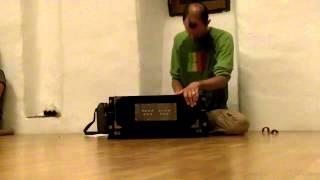 Alex sings Sri Ram with Harmonium