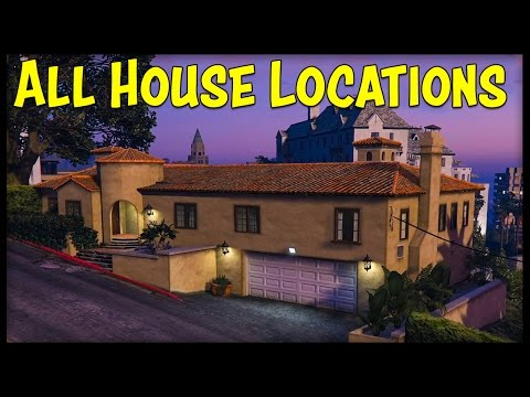 GTA 5 Online ALL NEW HOUSE LOCATIONS, INTERIORS & PRICES! (Executive DLC)