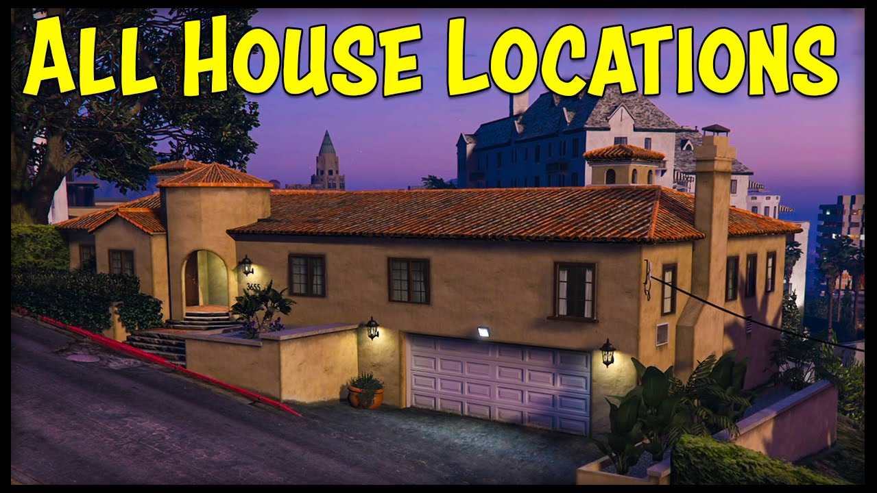 Gta 5 online all new house locations interiors prices for Price my house free online