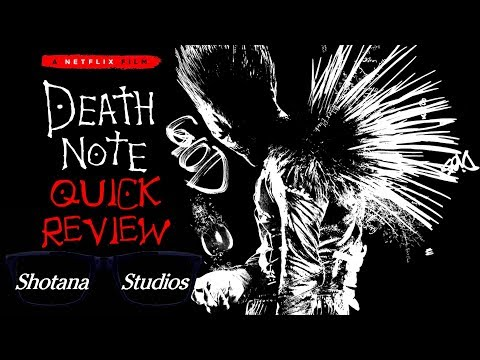 Death Note (2017) | Quick Review (Spoiler Free) DOES IT SUCK?!