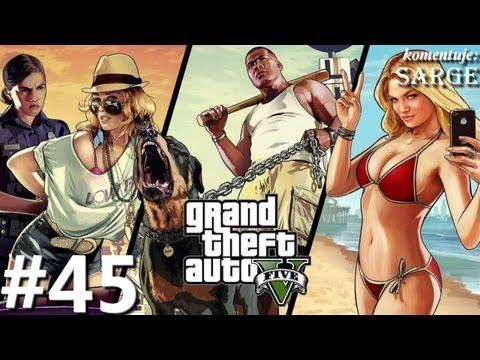 Zagrajmy w GTA 5 Grand Theft Auto V odc. 45  KONIEC GRY Zakończenie C