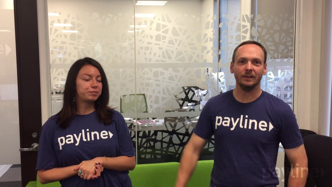 Payline Data 22 Pushup Challenge: Doug MacKay and Melissa Ramirez