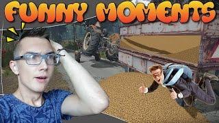 FUNNY MOMENTS #1 ☆ Leć kur** po worki.. FS13 / FS15 ㋡ DroXi & MafiaSolec & Bronczek