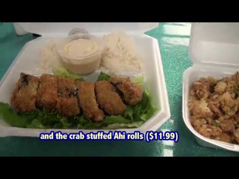 Fresh Catch, selling seafood plate lunches from Hawaii Web TV
