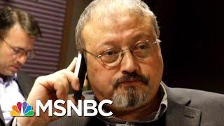 Pompeo: Saudis Should Finish Jamal Khashoggi Investigation Before We Act   Velshi & Ruhle   MSNBC