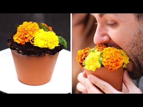 Trick Recipes | Flower Pot Cake Recipe | Cake Hacks | Easy DIY Dessert Recipes Ideas by So Yummy