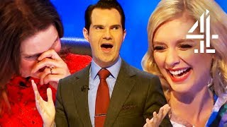 Rachel Riley & Susie Dent Share Bras!! | 8 Out Of 10 Cats Does Countdown