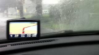 Regen in Weilburg 05.08.2011