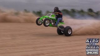 King of the River Spring 2016 ATV drag race at Whitefield River in Porum Oklahoma