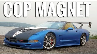 The Most Pulled Over Car of All Time - Superspeedersrob Turbo C5 Corvette Review!