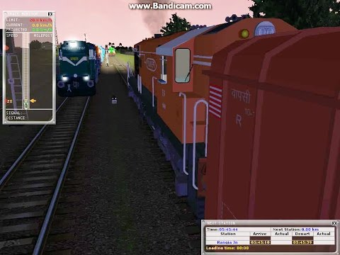 Indian MSTS; Freight Action/Shunting; WDM3A
