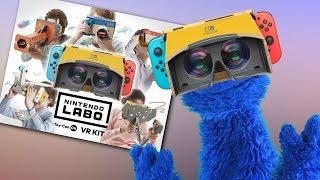 So Nintendo's Doing VR, Apparently!