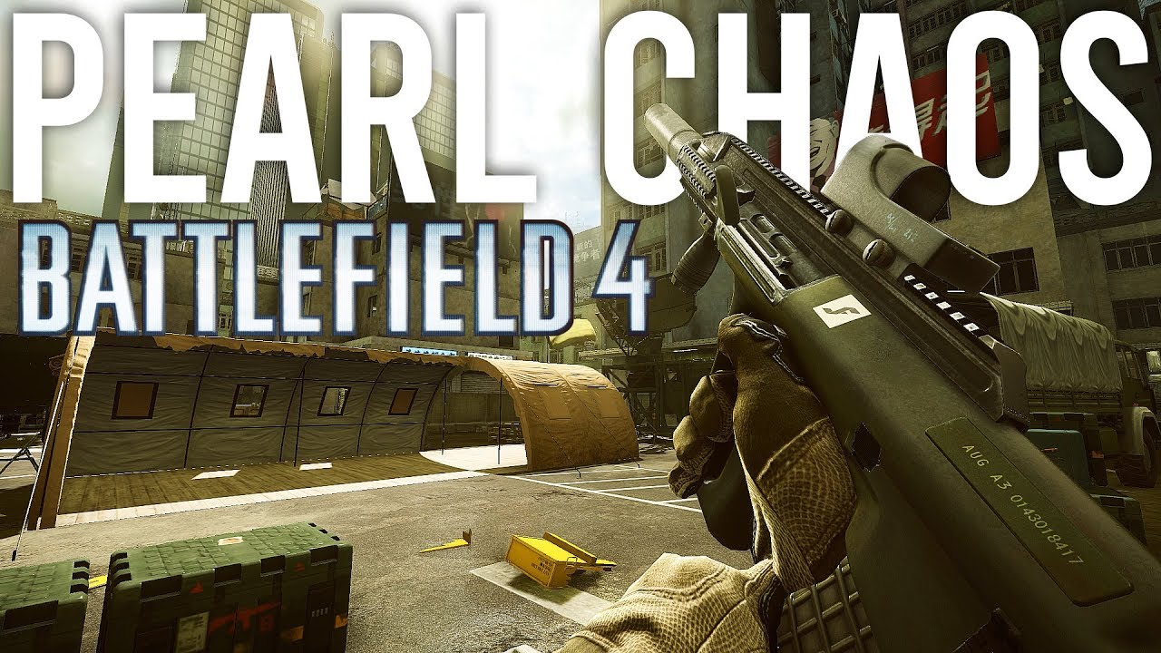 Battlefield 4 Pearl Chaos + video