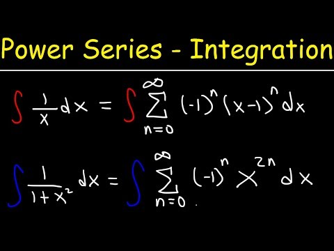 Power Series Representation By Integration - Calculus 2