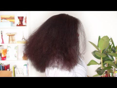 HOW TO TRIM NATURAL HAIR - Mom Edition  // Samantha Pollack