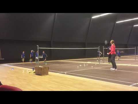 Tennis badminton-talent eye Zürich