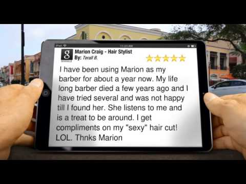 Marion Craig - Hair Stylist Grants Pass Exceptional Five Star Review by Terall B.