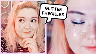 STAR FRECKLES ✨ space aesthetic makeup