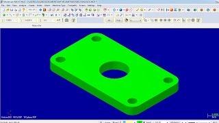 MASTERCAM كما يمكنك إنشاء الأشكال الهندسية الأساسية: المستطيل ، الاقطار و الدوائر.(إنشاء الأشكال)