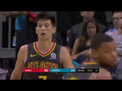 Breaking Down Jeremy Lin's Pick And Roll Action With Hawks