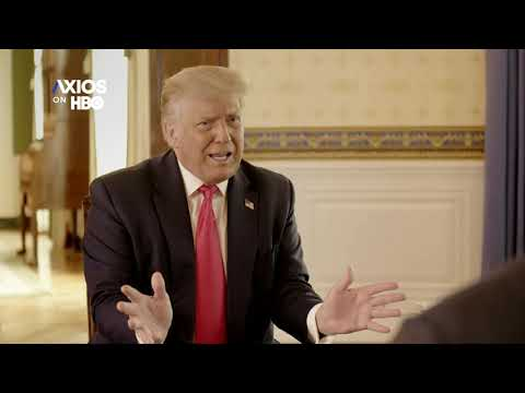 Trump Says On #AxiosOnHBO That He Didn't Bring Up Russian Bounty Scheme On Putin Call