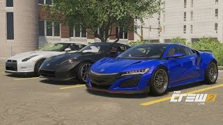 The Crew 2 | JDM Boyz - 829HP Widebody 2017 NSX Build | Highway Racing (Rolls/Digs) w/ GTR, 370Z, +