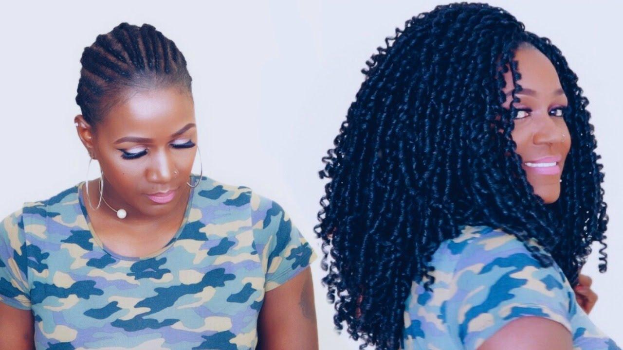 How To Soft Dread Crochet Braids Youtube