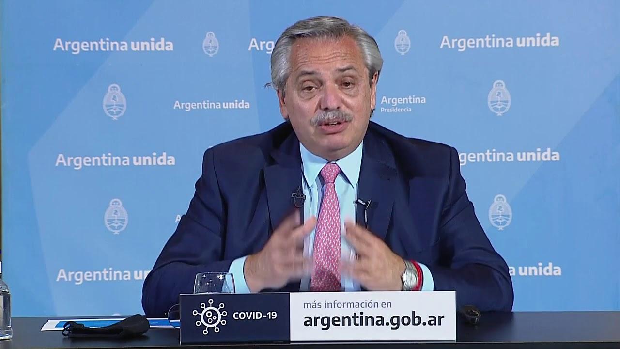 Coronavirus COVID-19 - El presidente Alberto Fernández anunció nuevas medidas sanitarias