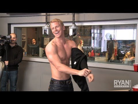 Bachelor Sean Lowe Goes Shirtless | Interview | On Air with Ryan Seacrest