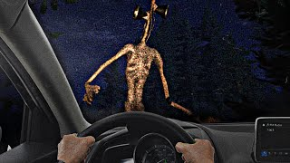 ESCAPO de SIREN HEAD en COCHE pero... - Siren Head: Retribution (Horror Game)