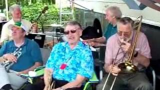 """Just a Shanty in Old Shanty Town"" ~ The Trailer Trash Jazz Band @ Lacey, WA ~ 6/24/11"
