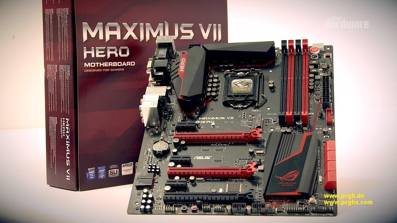 ASUS Maximus VII Hero | Z97Mainboard im Unboxing  YouTube