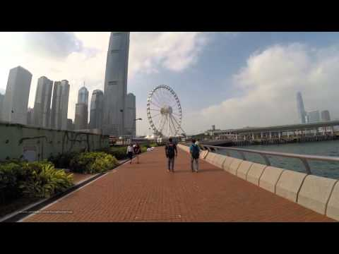 【Hong Kong City Tour】Victoria Harbourfront = Central Promenade - Sun Yat Sen Park (Part 5/6)