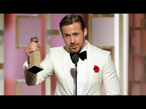 Thumbnail: Ryan Gosling Dedicates 2017 Golden Globe Win To Eva Mendes With Emotional Speech