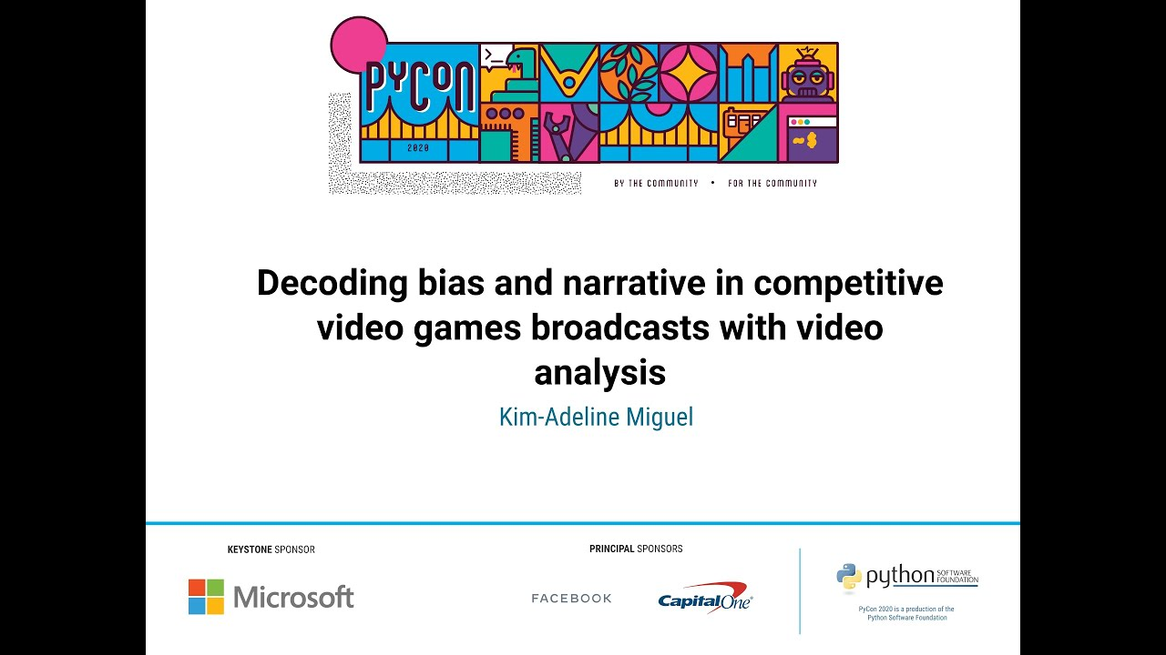Image from Decoding bias and narrative in competitive video games
