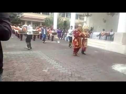 Parade di jogja ,mb bmk memainkan lagu mars pdbi