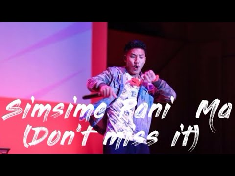 Simsime pani  ma || vTEN  || Live In Tokyo (Don't miss it)🔥