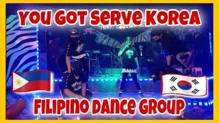 FILIPINO DANCERS AT YOU GOT SERVE KOREA (HipHop Hooligans)