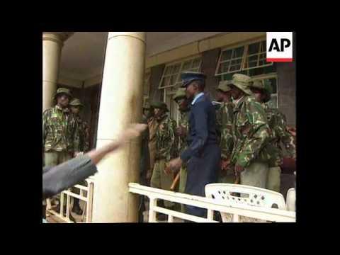 Kenya - Daniel Arap Moi takes lead in elections